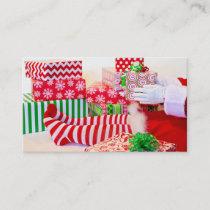Santa's Helper Elf Business Card