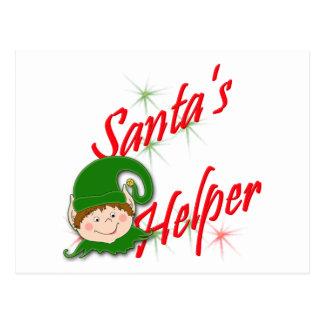 Santa's Helper Elf Postcard