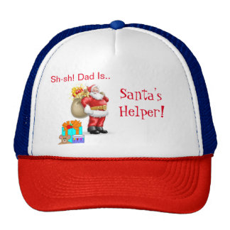 Santa's Helper Hat for Dad