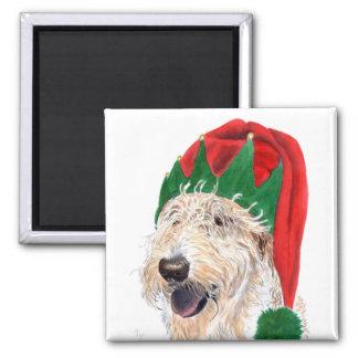 Santas Helper Labradoodle Magnet Refrigerator Magnet