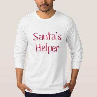 Santa's Helper Long Sleeve - Red T-Shirt