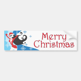 Santa's Helper - Merry Christmas Bumper Sticker