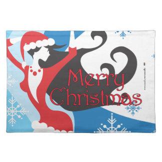 Santa's Helper - Merry Christmas Placemat