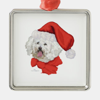 Santas Helper Metal Ornament