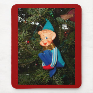 Santa's Helper Mouse Pad