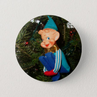 Santa's Helper Pinback Button