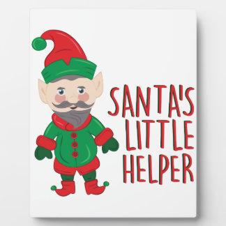 Santas Helper Plaque