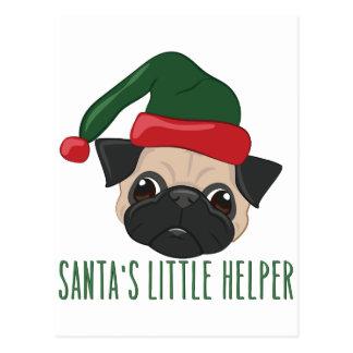 Santas Helper Postcard