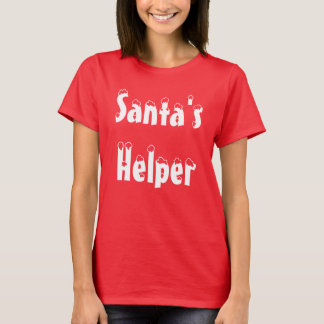 """Santa's Helper"" t-shirt"