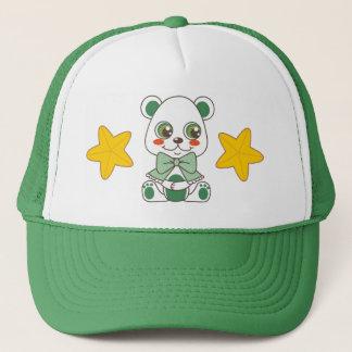 Santa's Helper Teddy Bear Trucker Hat