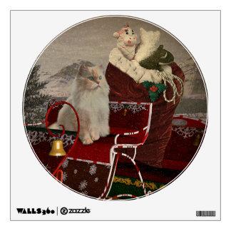 Santa's Helper Wall Sticker