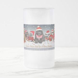 Santa's Helper wishes merry xmas  mug