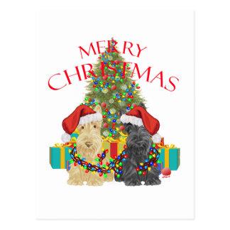 Santa's Helpers Postcard