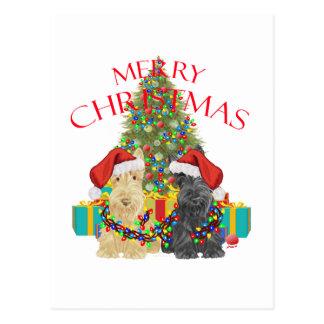 Santas Helpers Postcard