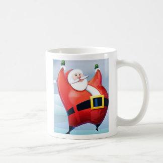 Santa's here cup mug