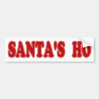 Santa's Ho Bumper Stickers