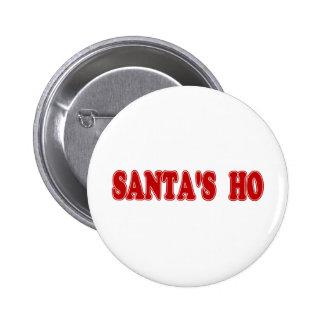 Santa's Ho 2 Inch Round Button