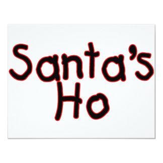 Santas Ho Personalized Announcements