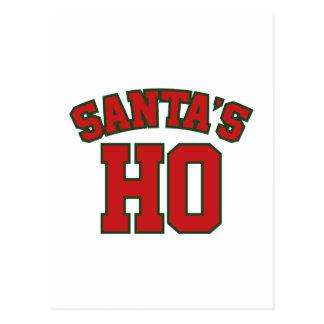 Santa's Ho Postcard