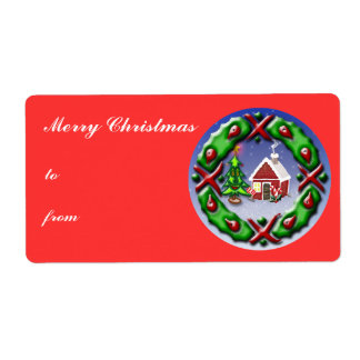 Santas Home Label