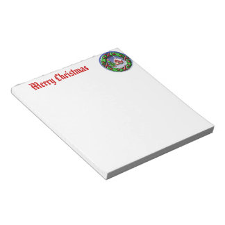 Santas Home Notepad