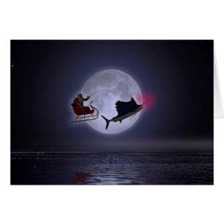 Santa's Hooked Up!!! Card