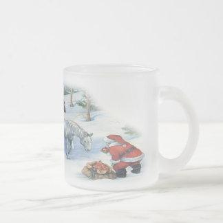 Santas horses mug