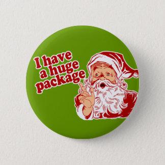 Santas Huge Package Button