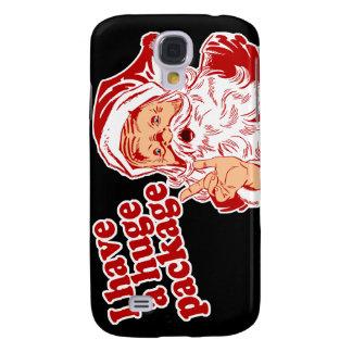 Santas Huge Package Galaxy S4 Cover