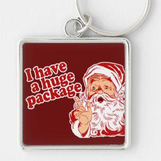 Santas Huge Package Keychain