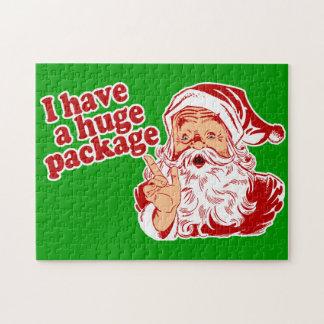 Santas Huge Package Puzzle