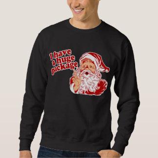 Santas Huge Package Sweatshirt