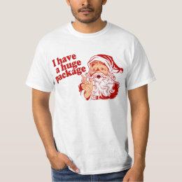 Santas Huge Package T-Shirt