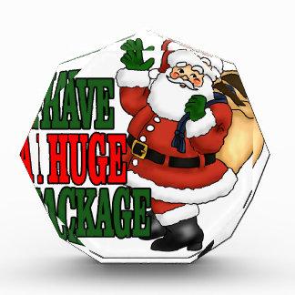 Santas Huge Package Tee Shirts MK.png Award