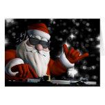 Santa's In Da House Greeting Cards
