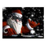 Santa's In Da House Postcard