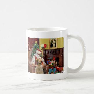 Santa's Itlaian Spinone Mug