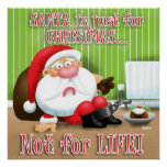 Santa's Just for Christmas Poster