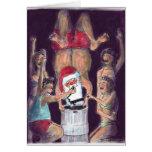 Santa's Keg Stand Christmas Card!