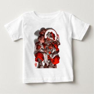 Santa's Lap Baby T-Shirt