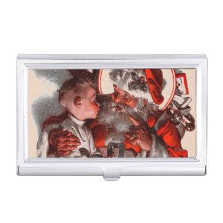Santa's Lap Business Card Case