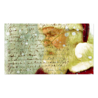 Santas Letter Double-Sided Standard Business Cards (Pack Of 100)