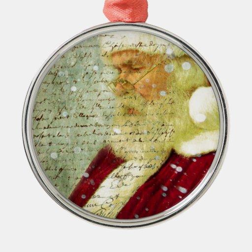 Santas Letter Ornament