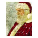 Santas Letter Postcard