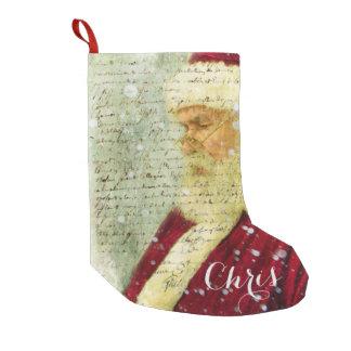 Santas Letter Small Christmas Stocking