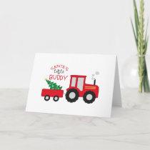 Santa's Lil' Buddy Card