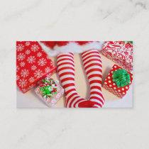 Santa's Lil Helper Business Card