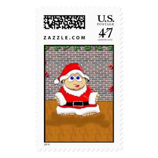 Santa's Lil Helper Stamp