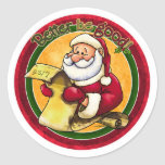 Santas List - Better be Good Stickers