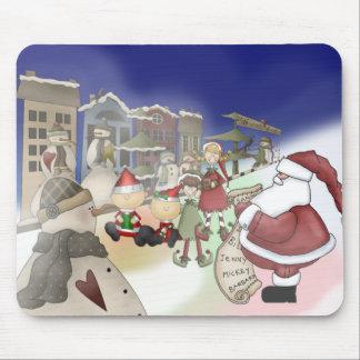 Santa's List Mouse Pads